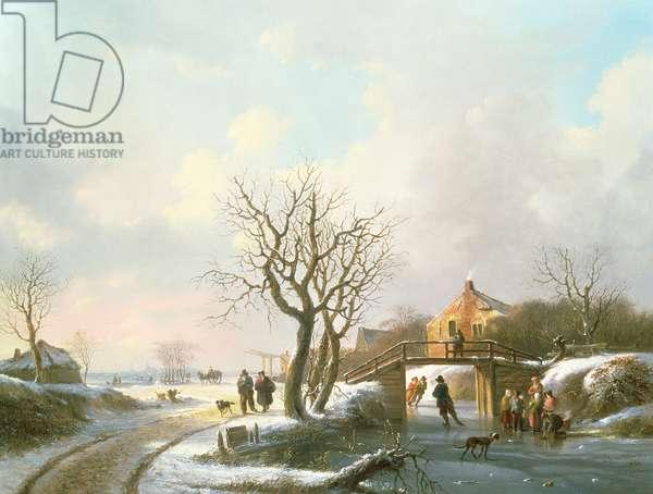 Winter Scene, 19th century