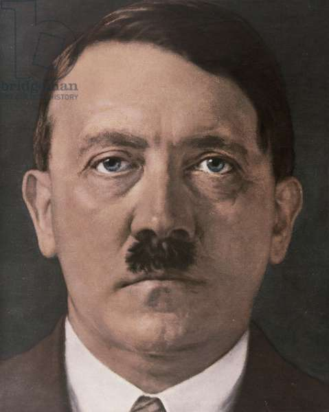 Portrait of Adolf Hitler from 'Signal' Magazine, Number 8, second edition of April 1941 (litho)