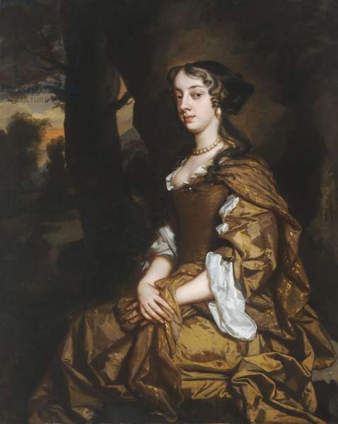 Sarah Wynne, Lady Houblon (oil on canvas)
