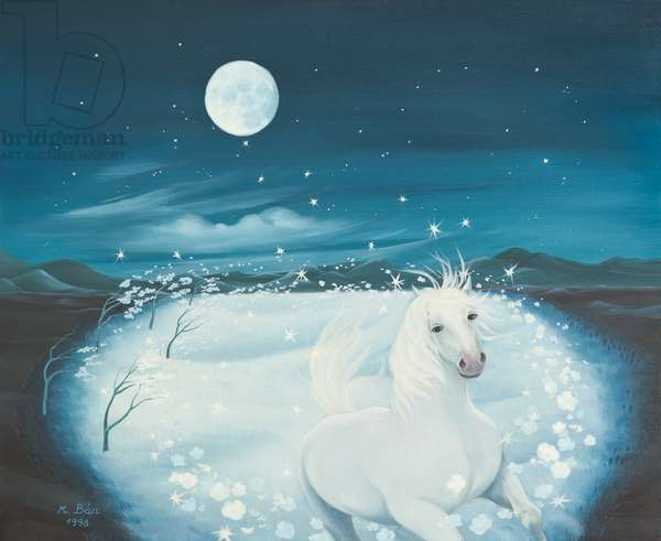 White Song, 1996 (oil on canvas)