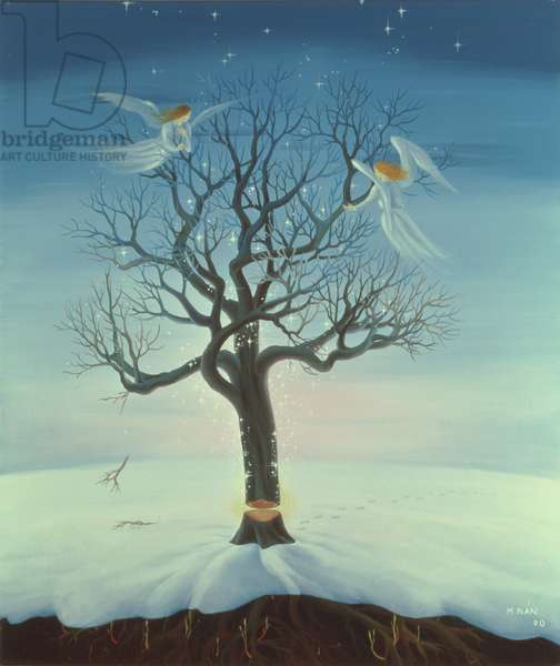 To Be Born Again, 2000 (oil on canvas)