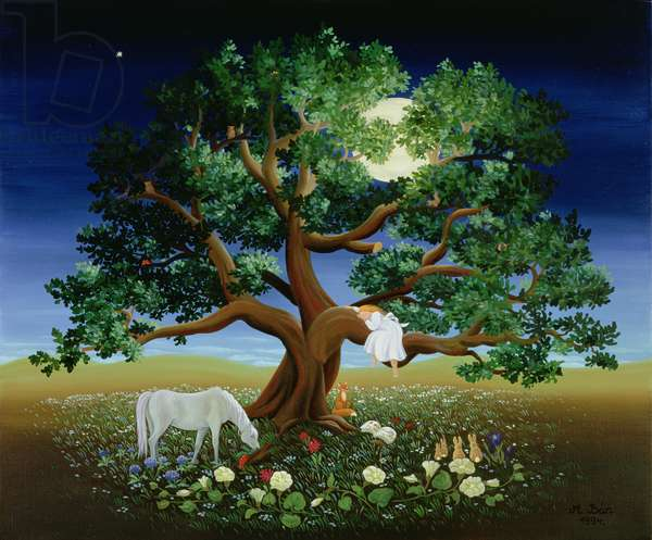 Tree of Dreams, 1994 (oil on canvas)