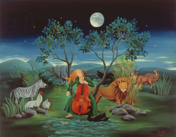 Moonshine Sonata, 2006 (oil on canvas)