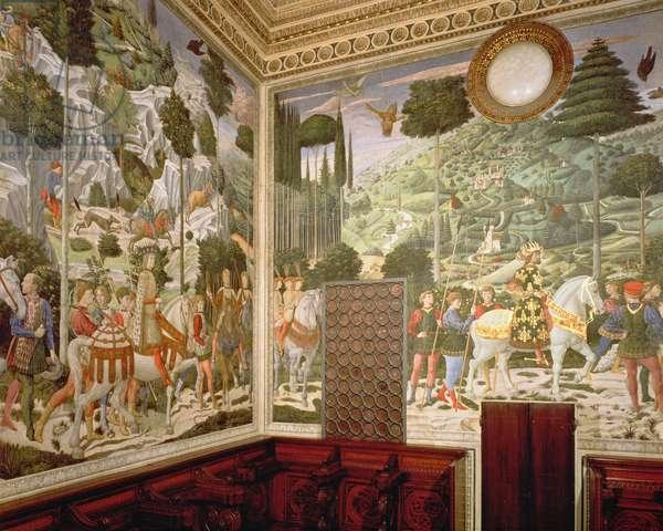 The Procession of the Magi, 1459-60 (fresco)