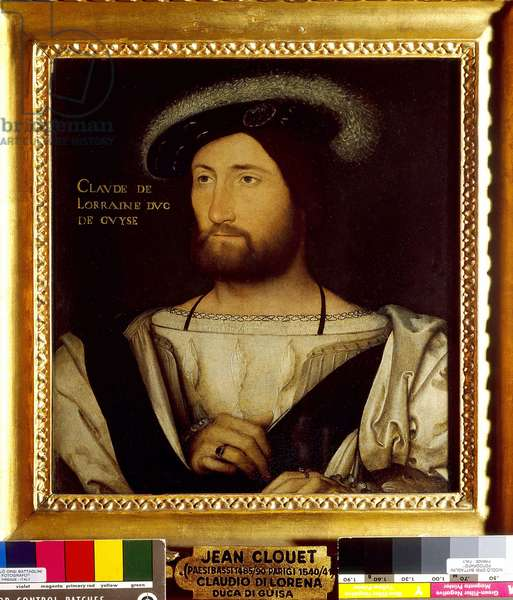 Portrait of Claude de Lorraine, first duke of Guise (1496-1550)