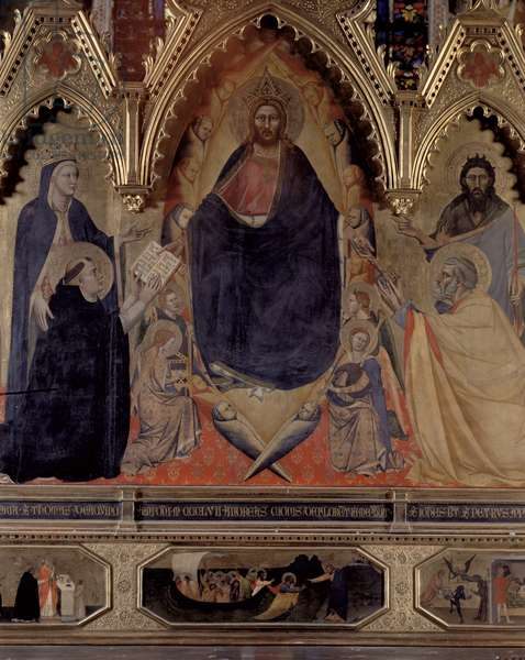The Strozzi Altarpiece, 1357 (panel) (detail of 72246)
