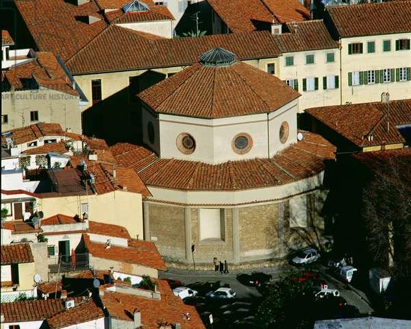 Rotunda of Santa Maria degli Angeli, begun 1434 (photo)