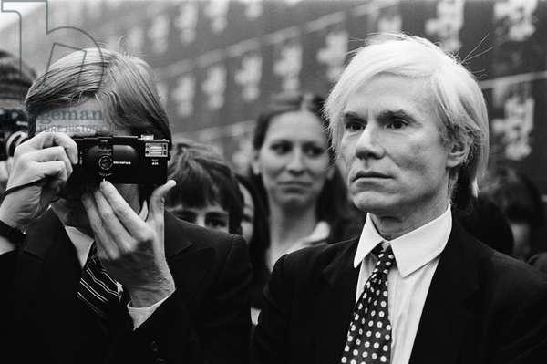 Andy Warhol - portrait