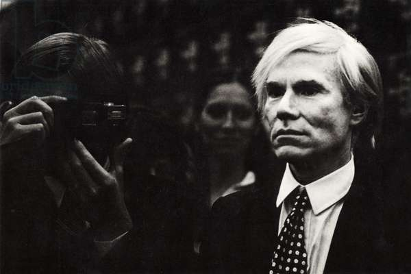 Andy Warhol in 1981