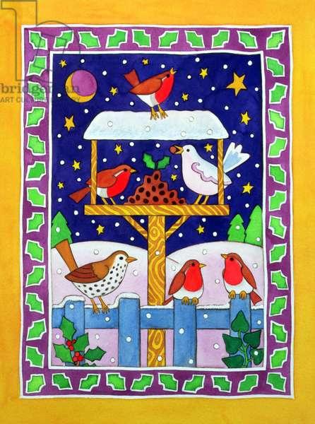 Christmas Feast for the Birds