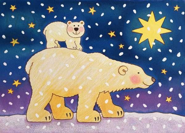 Polar-back Ride, 1996 (pastel)