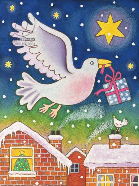 A Present of Peace, 1996 (w/c)