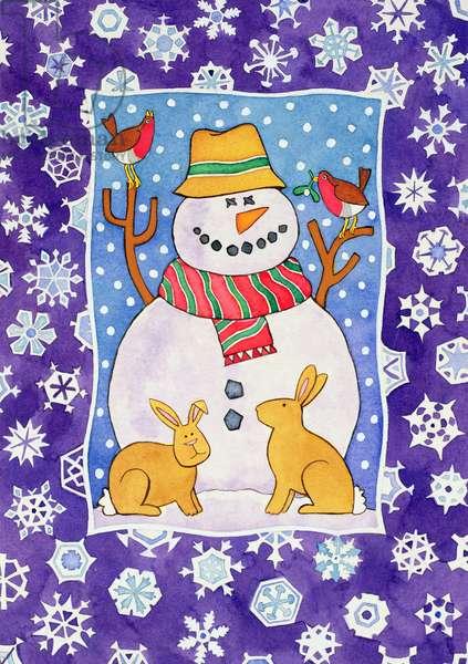 Christmas Snowflakes, 1995 (w/c)