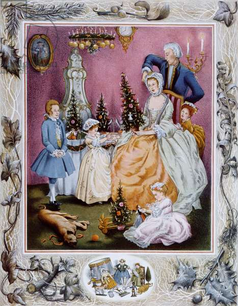 The Lady of Wittenberg and her Children,