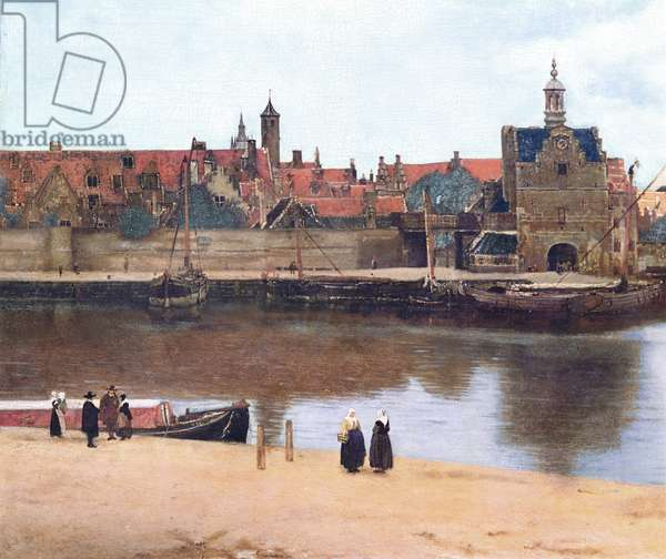 View of Delft, c.1660-61 (oil on canvas) (detail of 1109252)