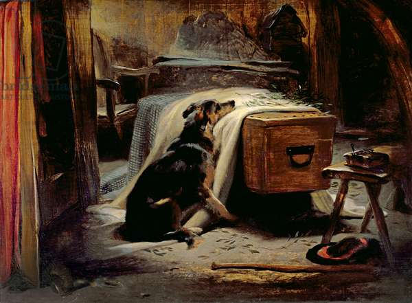 The Old Shepherd's Chief Mourner, c.1837 (panel)