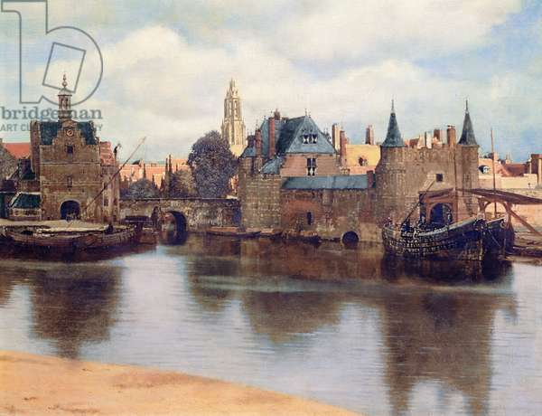View of Delft, c.1660-61 (oil on canvas) (detail of 1109259)