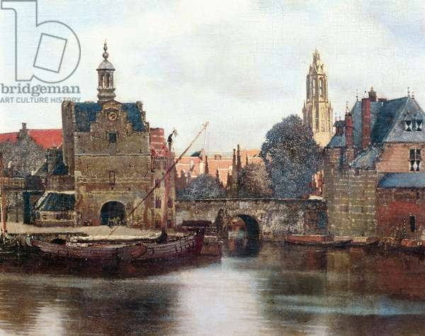 View of Delft c.1660-61 (oil on canvas) (detail of 1109259)