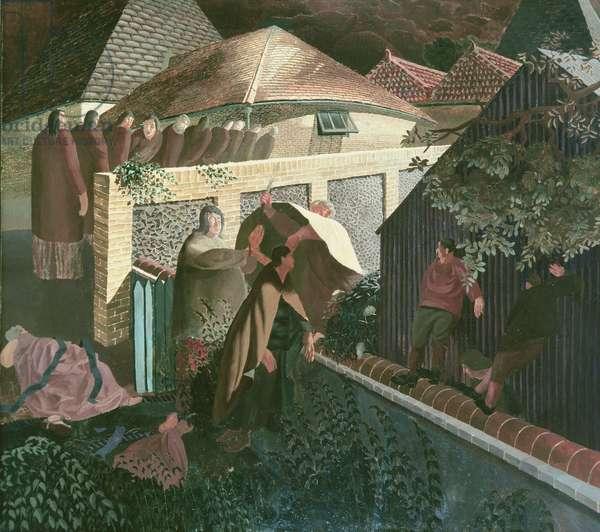 The Betrayal, 1922 (oil)