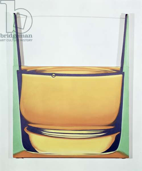 Glass of Whiskey, 1969 (oil on canvas)