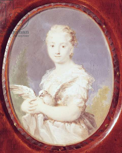 Young Girl with a Dove (L'Innocenza)