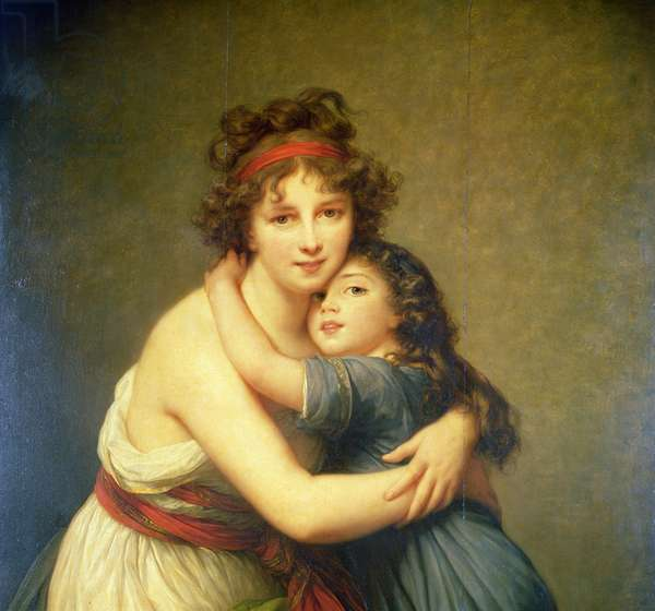 Madame Vigee-Lebrun and her Daughter, Jeanne-Lucie-Louise known as Julie (1780-1819)
