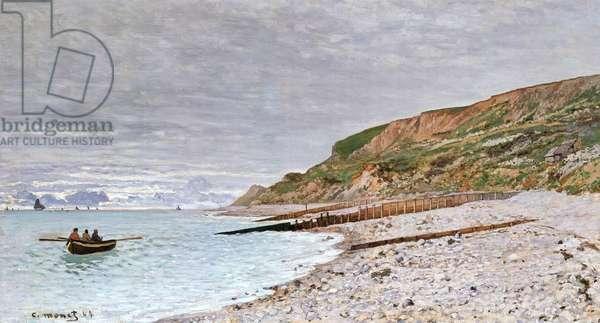 La Pointe de la Heve, 1864 (oil on canvas)