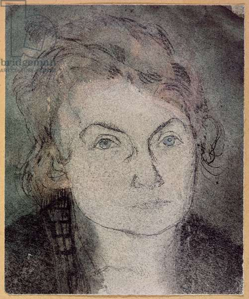 Untitled (Lily Klee-Stumpf) (1876-1946) c.1906 (pencil and w/c on paper)