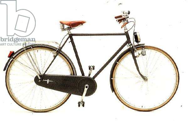 Bicycle, decorated in 1984 by Piero Fornasetti (b.1913)