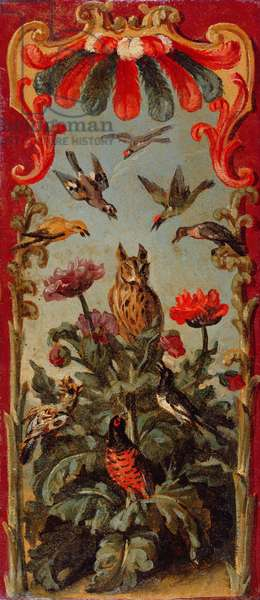 Design for the leaf of a Savonnerie screen, c.1720