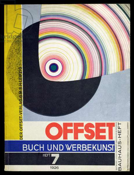 Cover of issue number 7 of 'Offset Buch und Werbekunst' 1926
