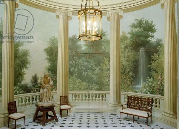 Round Dining Room of the Pavillon de Musique, built 1781 (photo)