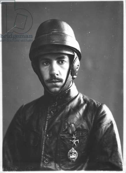 Igor Ivanovich Sikorsky, c.1914 (b/w photo)