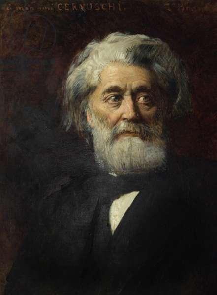 Portrait of Henri Cernuschi, London, 1890 (oil on canvas)