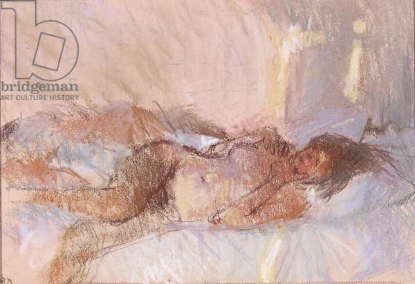 Nude, Sunny Room, 1982 (pastel)
