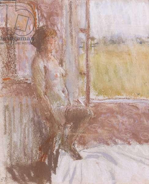 The Open Window, St Felix, 1986 (pastel)