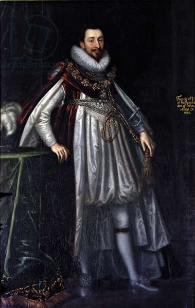 Francis Manners, 6th Earl of Rutland, c.1675 (oil on canvas)