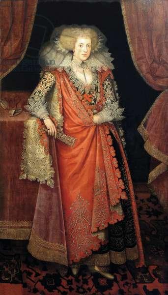Frances Knyvett, Countess of Rutland (oil on canvas)