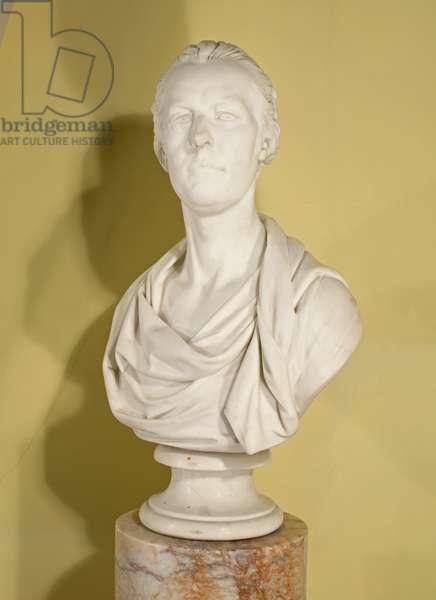 Marble bust of the Prince Regent by Joseph Nollekens (1737-1823)