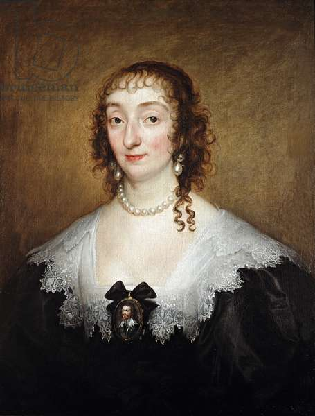 Katherine Manners, Duchess of Buckingham, c.1633 (oil on canvas)