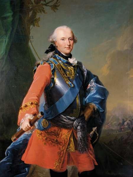 Prince Ferdinand, Duke of Brunswick-Luneburg, 1759 (oil on canvas)