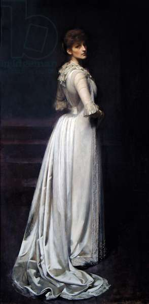 Violet, Duchess of Rutland, 1889 (oil on canvas)