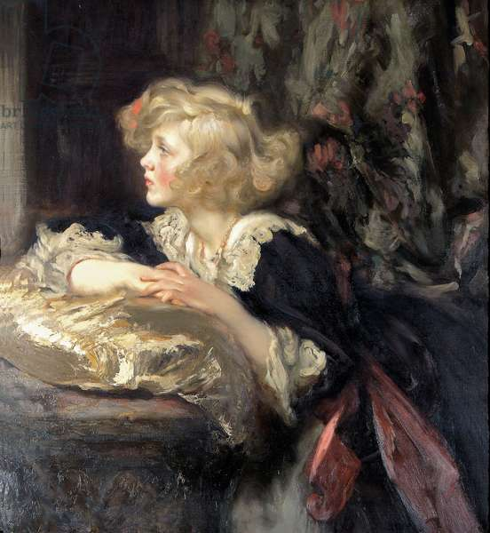 Diana Manners, later wife of Duff Cooper, 1st Viscount Norwich, 1919 (oil on canvas)