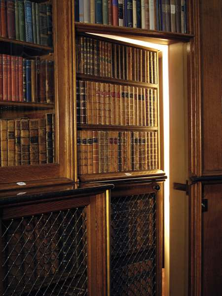 The Jib Door, The Small Library (photo)