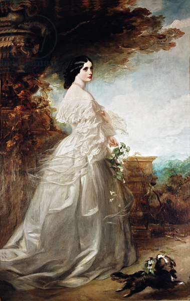 Catherine Marlay, Lady John Manners (oil on canvas)