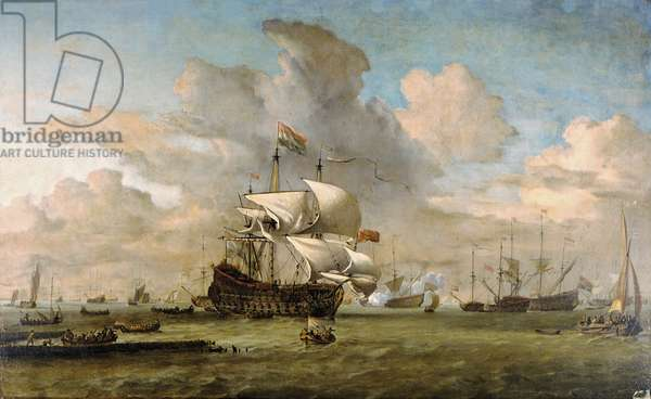 Hollandia, 1692 (oil on canvas)