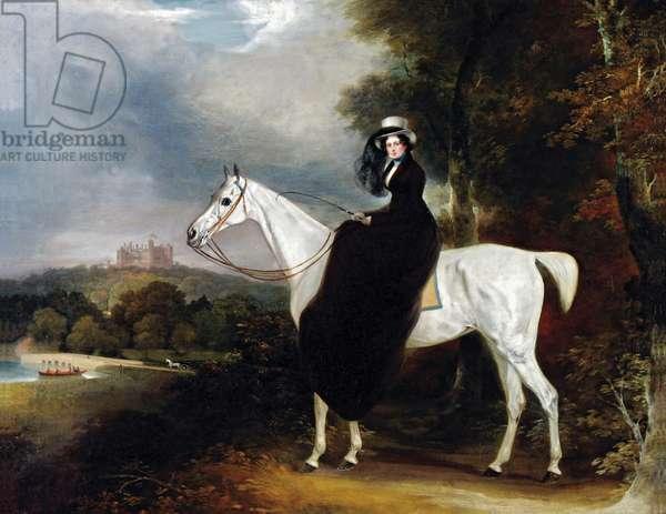 Elizabeth, Duchess of Rutland (oil on canvas)