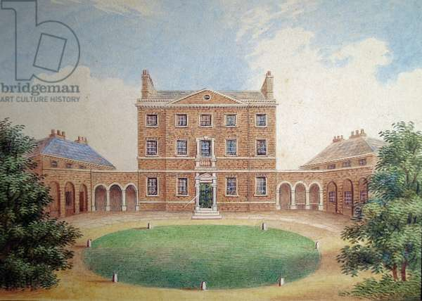Rutland House (w/c on paper)
