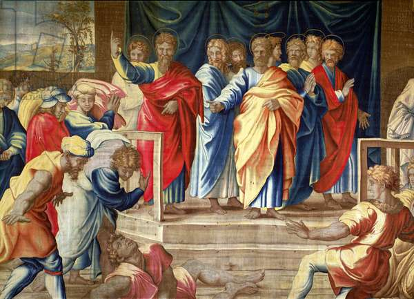 The Acts of the Apostles, The Mortlake Tapestries