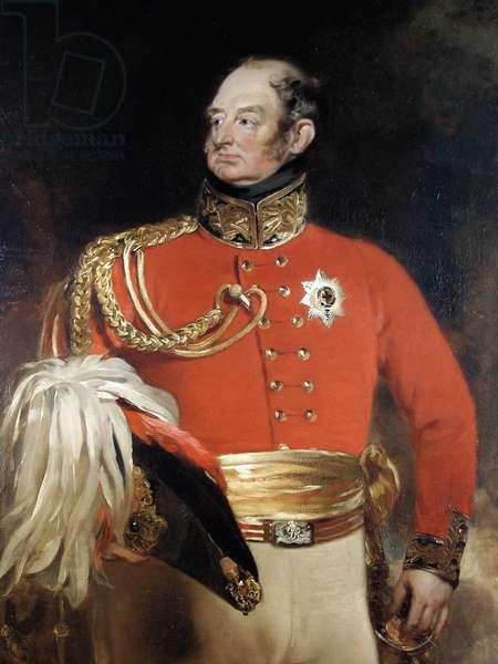 H.R.H. Frederick Augustus, Duke of York, 1826 (oil on canvas)